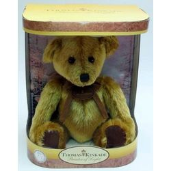 Thomas Kinkade Collector Nanette Teddy Bear