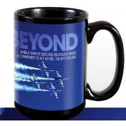 Above and Beyond Ceramic Coffee Mug