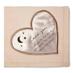 Love You to the Moon Royal Plush Blanket