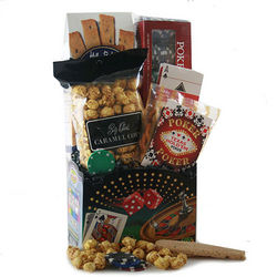 Boys Night Out Poker Gift Basket
