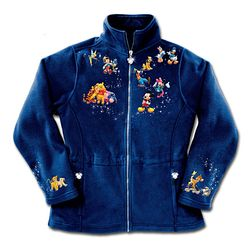 Disney Characters Fleece Jacket
