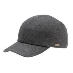 Kent Classic Wool Baseball Cap with Earflaps