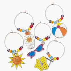 Summer Drink Charm Craft Kit