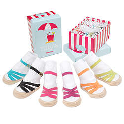 Infant Sandal Socks Set