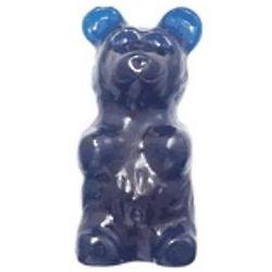 Blue Raspberry Flavored Giant Gummy Bear