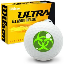 Zombie Eye Ultra Distance Golf Balls