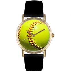 Softball Lover Print Watch