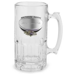 Baltimore Ravens Moby Beer Mug