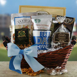 Best Dad Ever Snacks and Sweets Basket