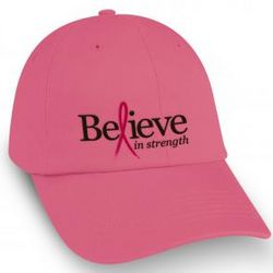 Breast Cancer Awareness Pink Baseball Hat
