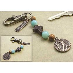 St. Michael Guardian Key Chain