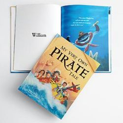 Personalized Pirate Storybook and Bandana