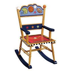 Children's Playoffs Rocking Chair