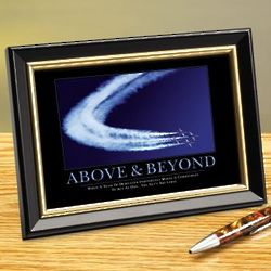 Above and Beyond Jets Framed Desktop Print
