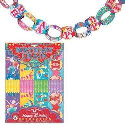 Birthday Paper Chains