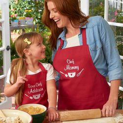 Family's Chef and Sous Chef Apron