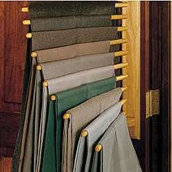 Ten Trouser Closet Organizing Rack Findgift Com