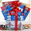 Ghirardelli Milk and Dark Chocolate Assortment Gift Basket