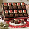Red Velvet and Chocolate Mini Petits Fours