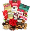 Holiday Caramel Popcorn and Dark Chocolate Gift Basket