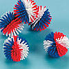 Patriotic Porcupine Balls