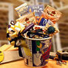 Men at Work Gift Set with Assortment of Tasty Treats and Snacks