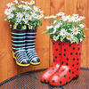 Rain Boot Planter