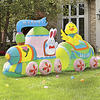 Easter Train Yard Inflatable