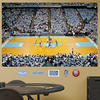 North Carolina Tar Heels Basketball Arena Fathead Wall Graphic