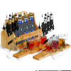 Brew Fest 6-Pack Holder with 2 Beer Flight Paddles