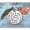 Personalized Hold You in Heaven Remembrance Necklace
