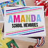 Kid's Personalized Memory Box with 2 Color Options