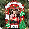 Personalized Holiday Photo Christmas Ornament