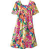 Women's Tropical Print Dress