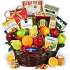 Fruit and Snacks Select Gift Basket