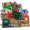 Gourmet Holiday Sleigh Christmas Gift Basket
