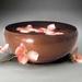 "Copper ""Camellia"" Bowl"