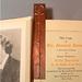Hammered Copper Bookmark