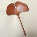 Copper Ginkgo Leaf