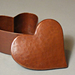Hammered Copper Heart Box