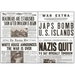 World War II Newspapers