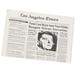LA Times B-Day Newspaper!