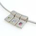 Silver Birthstone Pendant