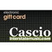 E-Gift Card from Cascio