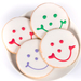 Hand-Iced Smiley Cookies