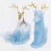 PyroPet Reindeer Candle